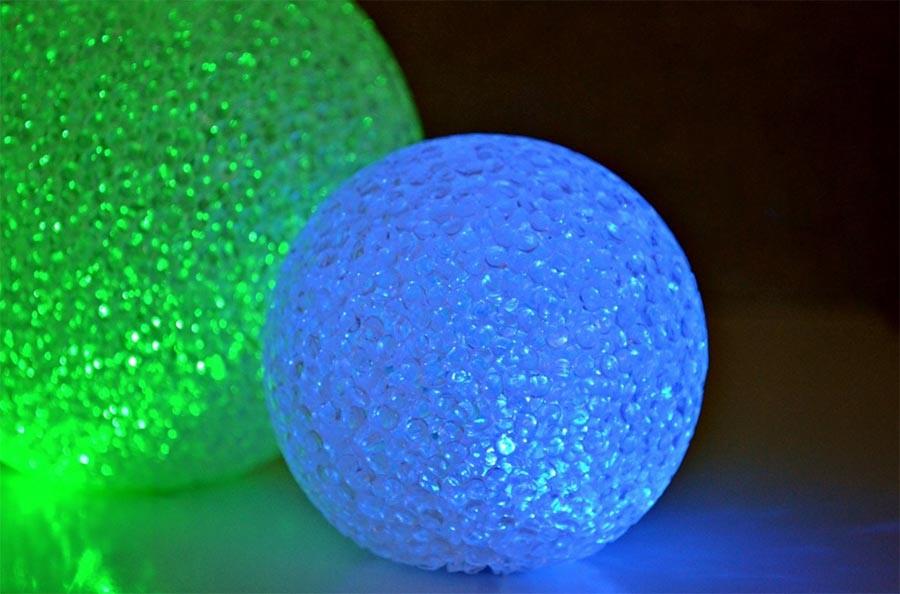 Le ballon lumineux, une tendance qui n'est pas prête de s'éteindre